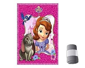 Plaid, couverture Princesse sofia 100x150cm