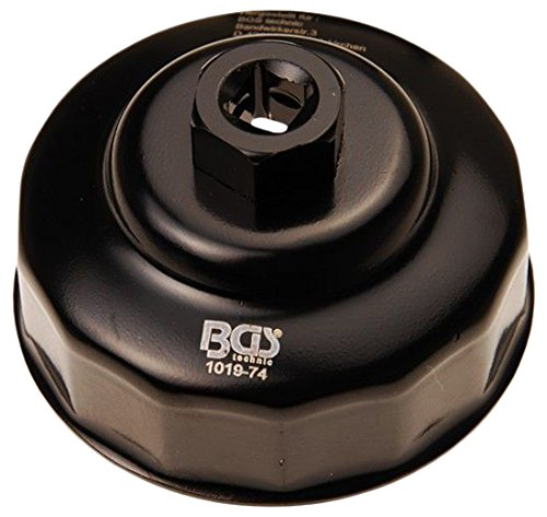 Preisvergleich Produktbild BGS Ölfilterkappe, 74 mm x 14 kant, 1019-74