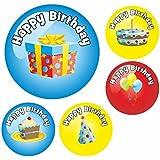 Happy Birthday Reward Stickers