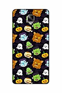 FABCASE Oneplus 3T Printed Premium Phone Cases and Back Covers Fancy Hard Plastic Panels Pouches D0861
