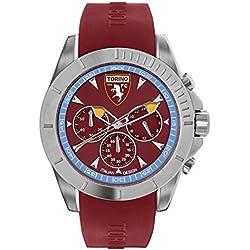 Torino Calcio Herren -Armbanduhr Quarz Silikon T3366URA
