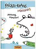 Krickel-Krakel-Minispaß: Achtung, Monster! Bilder zum Weitermalen