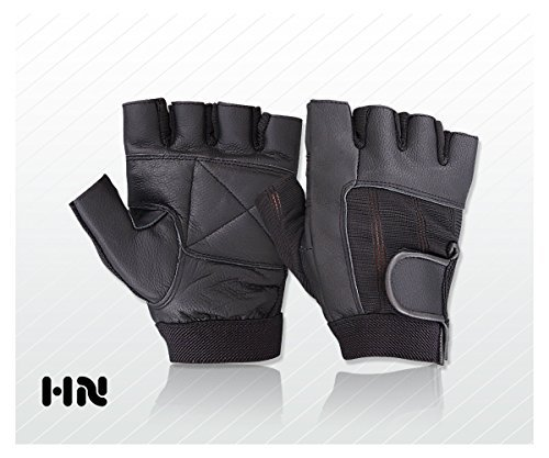 Fitness Training Leather – Weight Lifting Gloves