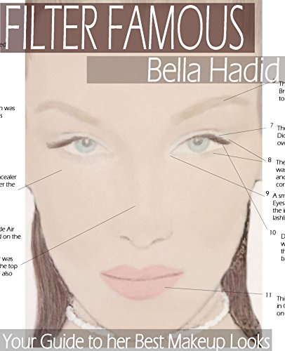 Filter Famous - Bella Hadid: Step-by-Step Guides to her Best Makeup Looks (English Edition) - Besten Eyeliner