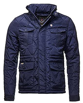 Geographical Norway - Doudoune Geographical Norway Argent Marine-Taille - S