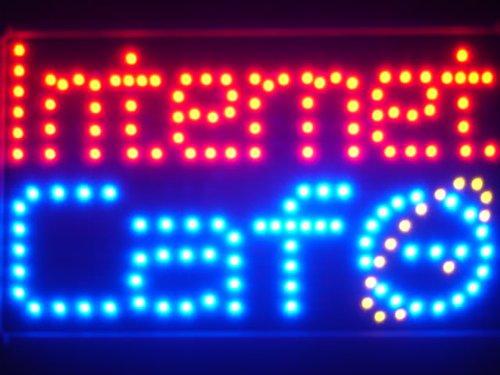 led018-r-internet-cafe-bar-led-neon-business-light-sign