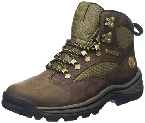 Timberland RG Hike FTP Chocorua Mid GTX Damen Kurzschaft Stiefel, (DARK BROWN/GREEN), 39.5 EU