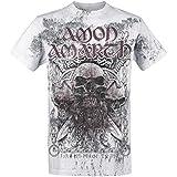 Amon Amarth Beardskulls T-Shirt hellgrau