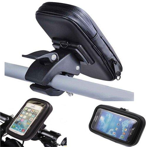 Castho Wasserdicht Motorradhalterung Schutzhülle Tasche für Samsung Galaxy S5 Mini Fahrradhalterung Waterproof Outdoor Etui Schale Cover Halter