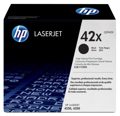 HP 42X Schwarz Original LaserJet Tonerkartusche mit hoher Reichweite