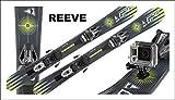 Gaspo Snowblades Reeve 99cm +Camco+Sicherheitsbindung