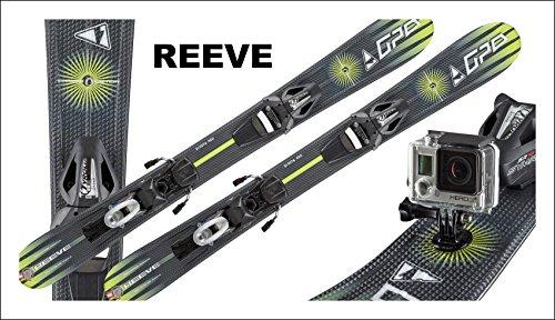 Preisvergleich Produktbild Gaspo Snowblades Reeve 99cm +Camco+Sicherheitsbindung