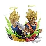 Banpresto 26972 - Gogeta Vol.2 Dragon Ball Z Goku and SS Vegeta Statua, 7x11 cm