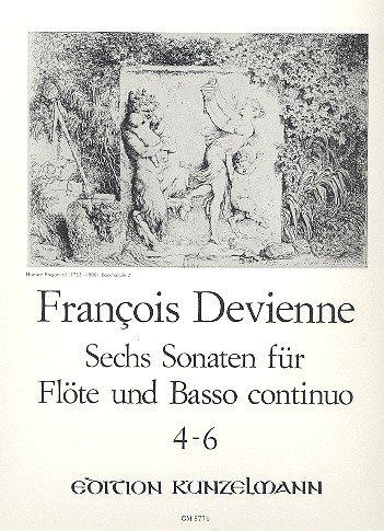 6 Sonaten Band 2 (Nr.4-6): für Flöte und Klavier (Vier Sonaten Und Klavier Flöte Für)