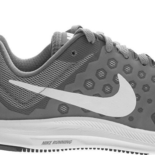 Nike Damen Downshifter 7 Laufschuhe, Weiß/Rosa Grau (grau/weiß)
