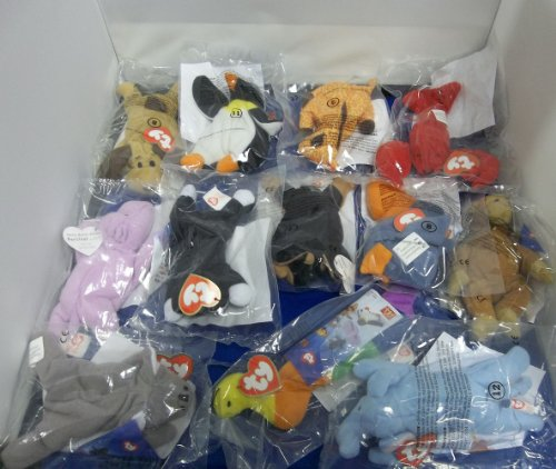 ty-beanie-babies-mcdonalds-uk-1999-complete-set-of-12