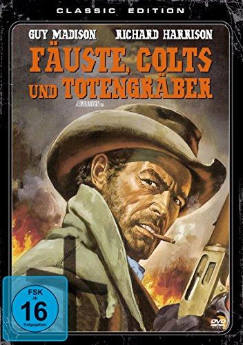 Coverbild: Fäuste, Colts und Totengräber