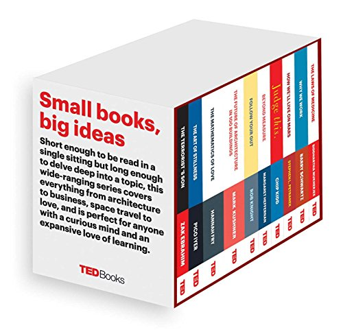 Ted Books Box Set: The Completist: The Terrorist's Son, the Mathematics of Love, the Art of Stillness, the Future of Architecture, Beyond Measure, Jud