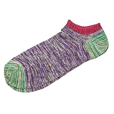 Eastlion Socken aus Baumwolle Komfortable atmungsaktive Packung mit 5 Stück