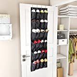 Best Shoe Rack Organizer For Closets - Lifewit Fabric 24 Pockets Over The Door Shoe Review