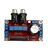 Q-BAIHE TDA78504x 50W 4Canal Coche Amplificador de Audio DE 12V AV Interfaz DIY AMP Junta