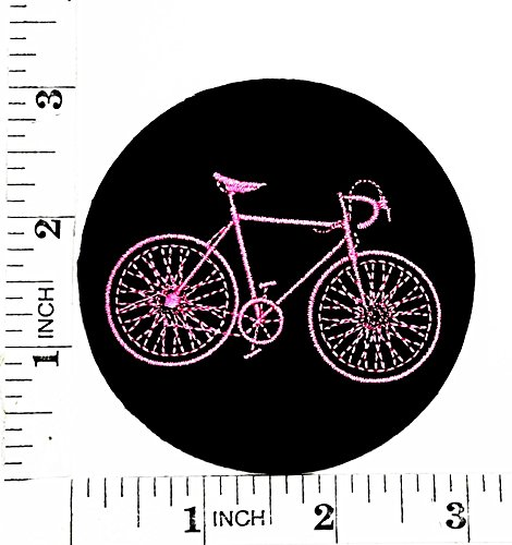 Noir de vélo de montagne Vélo de route Fonction de dessin animé film Patch Main brodée thermocollant et coudre Symbole Veste T-shirt patches Applique Accessoires