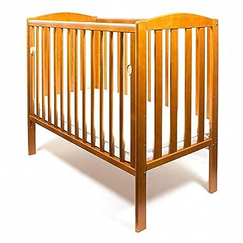 New Wood Little Babes Tobie Lit Compact Mini Space Saver Lit Bébé