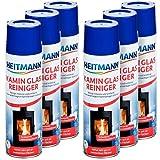 Heitmann Kamin-Glas-Reiniger, 6er Pack (6 x 500 ml)
