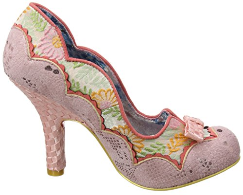 Irregular Choice Tickled Pink, Escarpins Bout Fermé Femme Rose