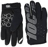 100% 10006-001-06 BRISKER Kaltes Wetter Handschuhe Schwarz Jugend - L