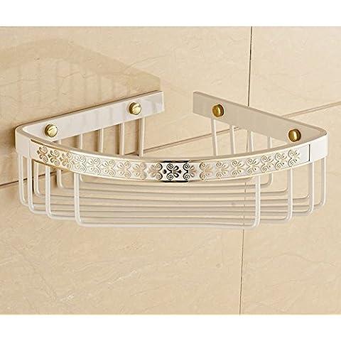 Tutti muro del bagno di rame/bagno antico rack scaffale angolo/cestino triangolo singolo-J