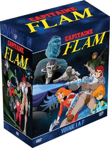 Coffret Capitaine Flam, partie 1 (24 épisodes) [Import belge]