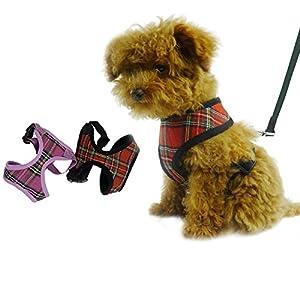 Grundinformationen •Produktname: Hundegeschirr Hundehalsband Brustgeschirr Sicherheitsweste Hundezubehör XS S M L XL •Material: Netz + Baumwolle •Farbe: 6 verschiedene Farbe zum Auswahl •Es ist eine sehr perfekte Werkzeug für Ihre Haustiere zu Laufen...