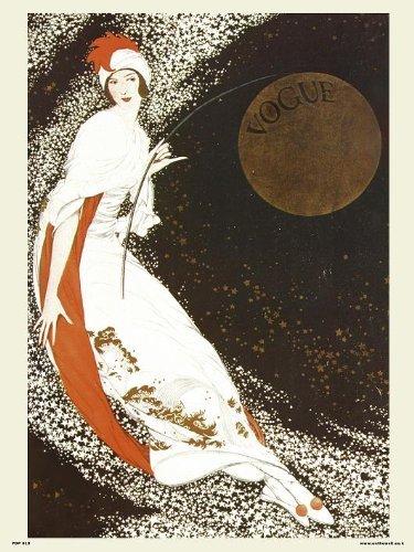 onthewall Vogue Vintage-Poster PDP 019, Pop Art, Motiv Milchstraße Cover Vintage Vogue