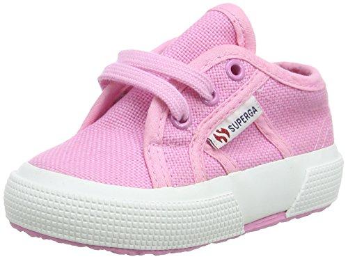 Superga 2750 Bebj Baby Classic, Low-Top Sneaker Unisex - Bambini, Rosa (Pink Begonia), 21 EU