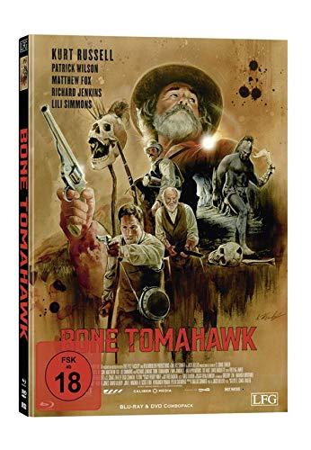Bone Tomahawk - Mediabook - Cover F - Limited Edition auf 150 Stück  (+ DVD) [Blu-ray]