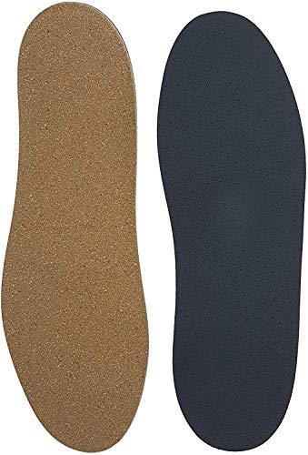 Green-Feet 3mm dünne Orthopädische Schuh Einlegesohle-n Senkfuß Plattfuß Normalfuß Hohlfuß mit Spreizfuß-Stütze Dämpfungs-Polster Hand-Made in Germany