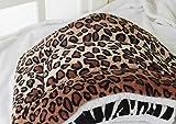 ZHJZ Lettiera per Cani Letto per cani/gatti Coperta di lusso Lavabile Ultra Morbido Caldo Felpa in pile Copripiumino Coprimaterasso Materassino per cani piccoli/medi/Gatto (Leopardo)
