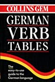 German Verb Tables (Collins Gem) (Collins Gems)