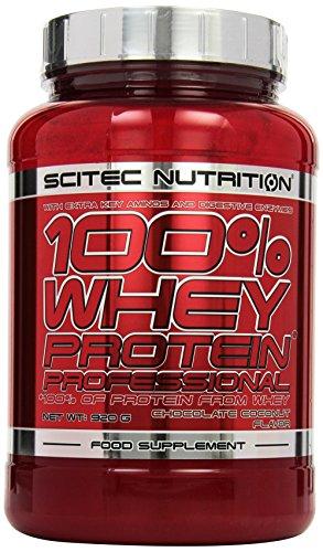 Scitec Nutrition Protein 100% Whey Protein Professional, Schokolade-Kokosnuss, 920g -