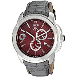 Jivago Men's 'Gliese' Swiss Quartz Stainless Steel Casual Watch (Model: JV1516)