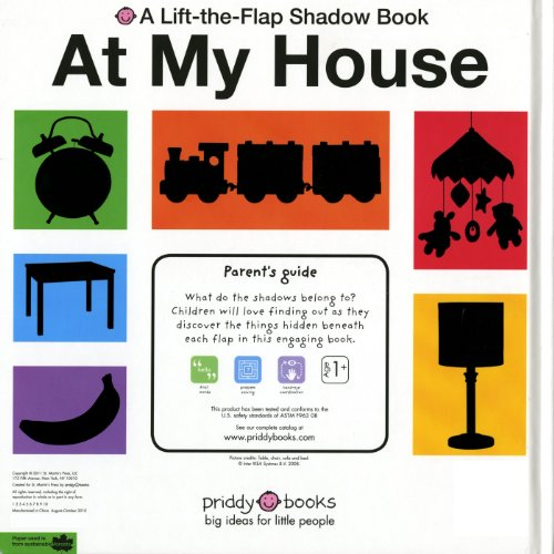 At My House (A Lift-the-Flap Shadow Book)