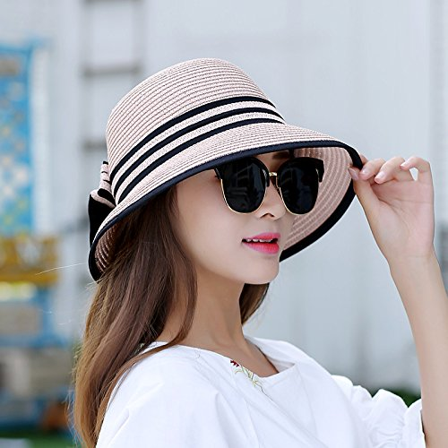 LLZTYM Sun/Sunscreen/Foldable/Sunshade/Sunshade/Summer/Beach/Travel/Straw Hat/Cap/Fisherman Hat/Headwear/Gift/Hat I