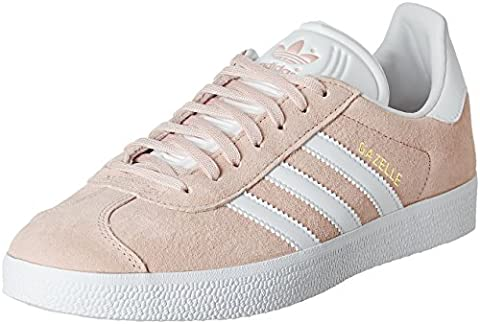 adidas Gazelle, Sneakers Basses mixte adulte -Rose (Vapour Pink/White/Gold Metallic),EU 39 1/3