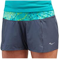 Saucony Short Run Pinnacle Gris/Azul Woman Talla XS