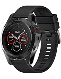 Correa de Relojes Cómoda y Durable, YpingLonk Silicona Adecuado para Garmin Fenix 5X 26MM GPS