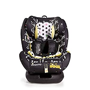Cosatto All-in-All Group 0+123 Car Seat, Smile, 0-36 kg   6