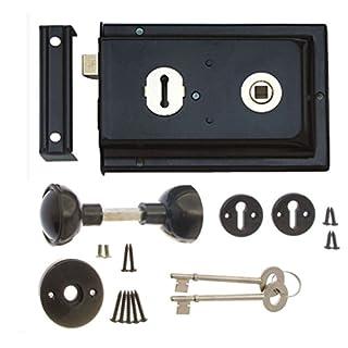Rim Lock & Handle Set 6 x 4