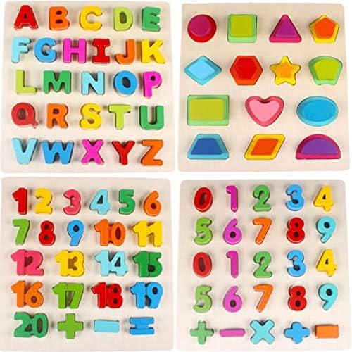 Blocs De Lettres Puzzle Bébéà Saisir Main 1-6 Ans Jouets éducatifs pour  s | Matériaux De Qualité