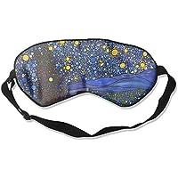 Eye Mask Eyeshade Gogh Starry Night Sleep Mask Blindfold Eyepatch Adjustable Head Strap preisvergleich bei billige-tabletten.eu